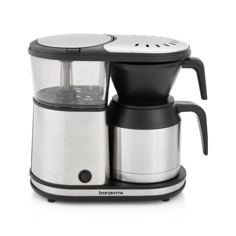 Bonavita Coffee Maker Maintenance : Bonavita 5-Cup Coffee Maker with Thermal Carafe Crate and Barrel