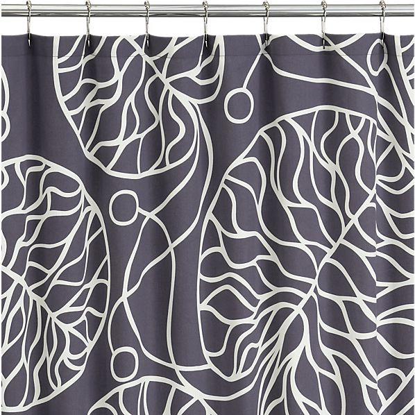 Marimekko Bottna Slate Shower Curtain