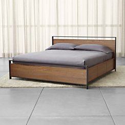 Bowery King Storage Bed