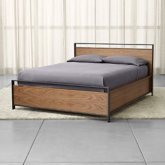 Bowery Queen Storage Bed