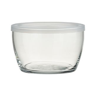 Lidded Bowl with Clear Lid