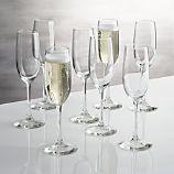 Set of 8 Boxed 8 oz. Champagne Flutes
