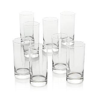 Set of 8 Boxed 16 oz. Highball Glasses