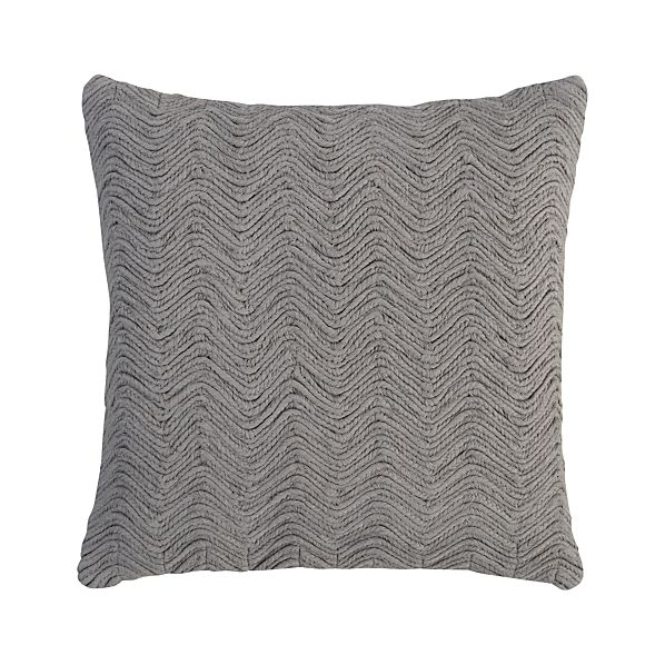 """Braid Ash 18"""" Pillow"""