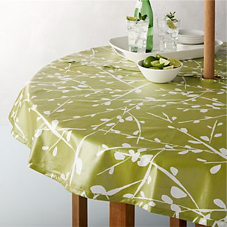 "Branch Botanical 58"" Round Umbrella Tablecloth"
