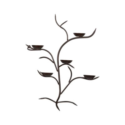 Bronze Branch Wall Sconce