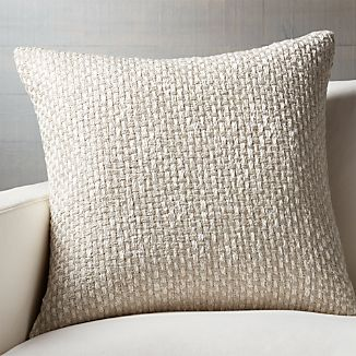 """Brant 23"""" Pillow with Down-Alternative Insert"""
