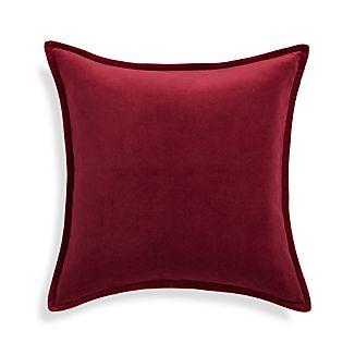 """Brenner Beet Red 20"""" Pillow"""