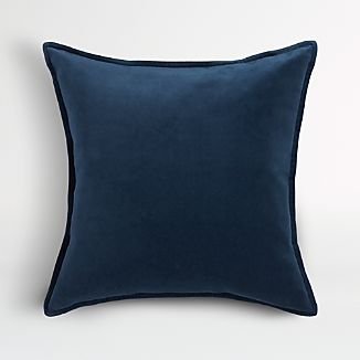 "Brenner Indigo Blue 20"" Pillow"