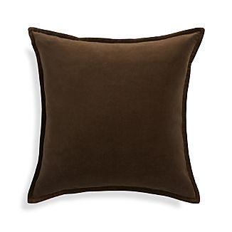 "Brenner Morel Brown 20"" Pillow"