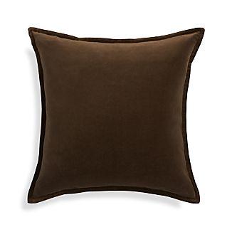"""Brenner Morel Brown 20"""" Pillow"""