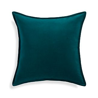 "Brenner Teal Blue 20"" Pillow"