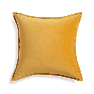 "Brenner Yellow 20"" Pillow"