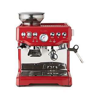 Breville ® Red Barista Express ™ Espresso Machine