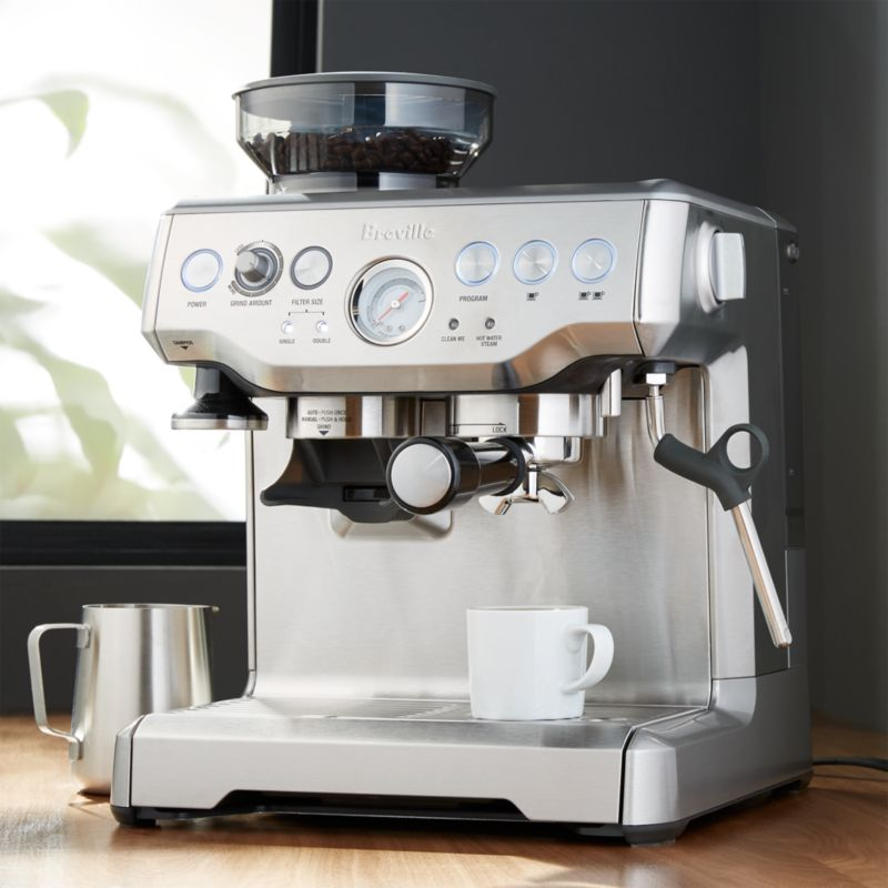 Coffee Maker Barista : Breville Barista Espresso Machine Crate and Barrel