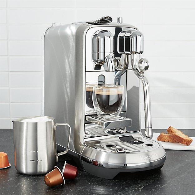 Breville 169 Creatista Plus Nespresso Coffee Brewer Crate
