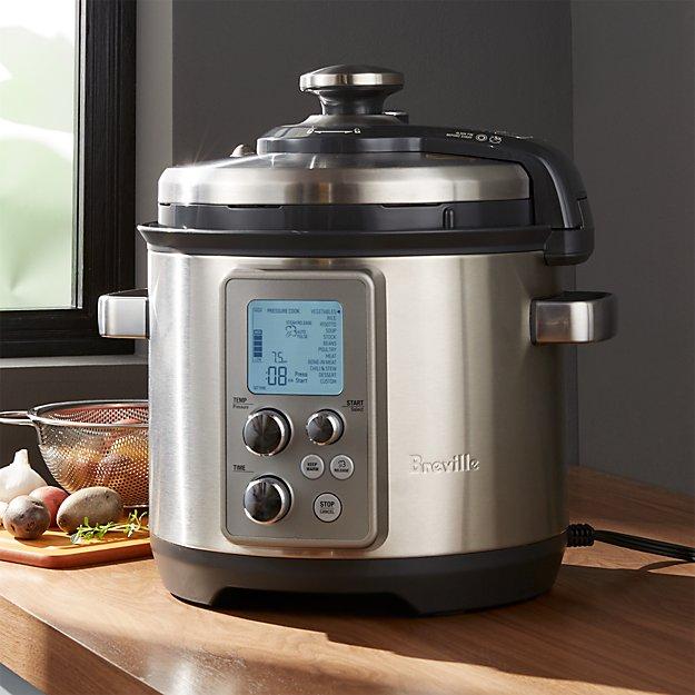 Breville ® Fast Slow Pro Pressure Cooker