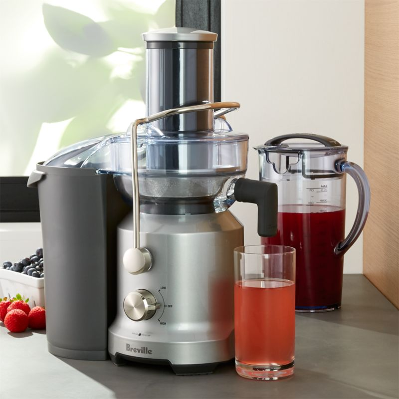 Breville Juice Fountain Cold Press Juicer Crate And Barrel