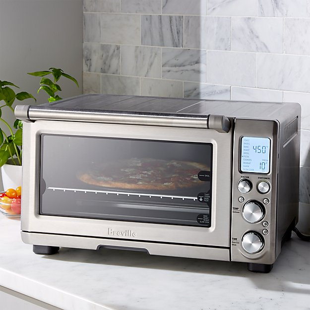 Breville smart oven pro toaster oven crate and barrel for Breville toaster oven