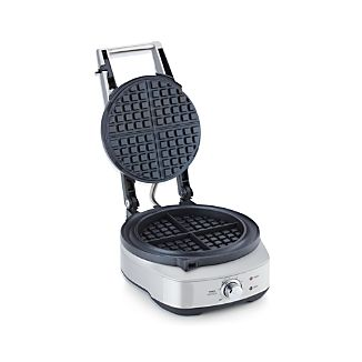 Breville ® No-Mess Waffle™ Round Waffle Maker