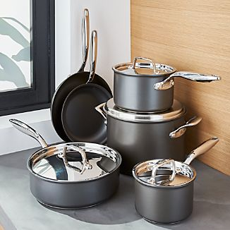 Breville ® Thermal Pro Hard-Anodized 10-Piece Cookware Set
