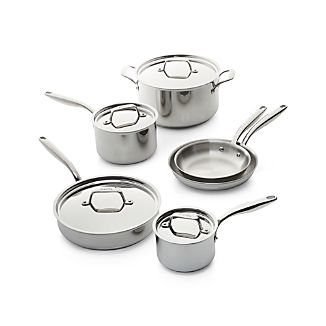 Breville ® Thermal Pro Stainless Steel 10-Piece Cookware Set