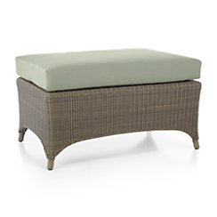 Bridgewater Ottoman with Sunbrella ® Cushion