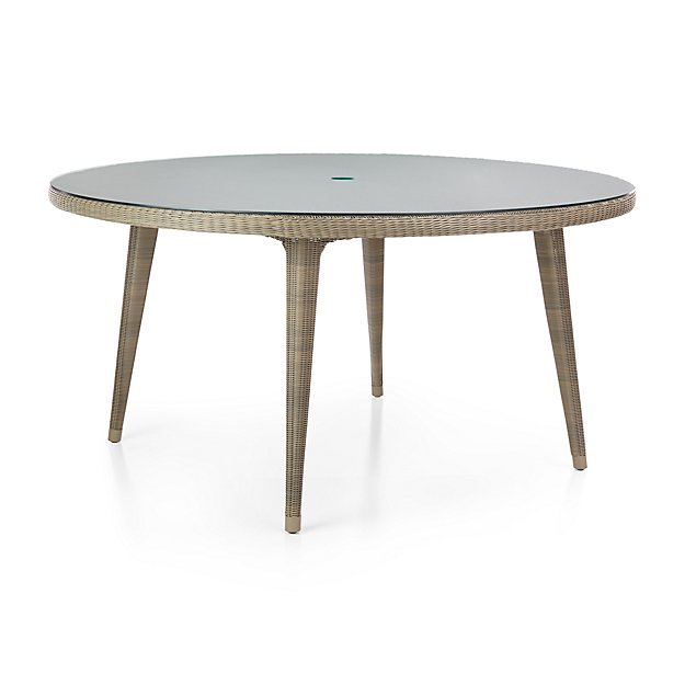 Bridgewater Round Dining Table Crate And Barrel