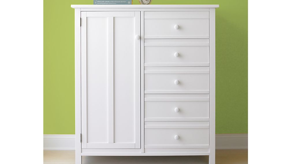 Brighton White Wardrobe
