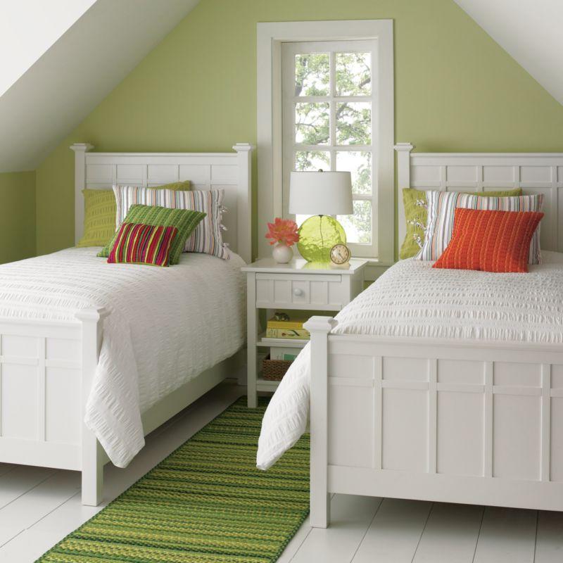 Brighton White Bed