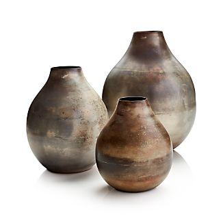 Bringham Metal Vases