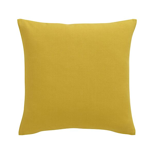 """Brinkley Mustard 18"""" Pillow"""