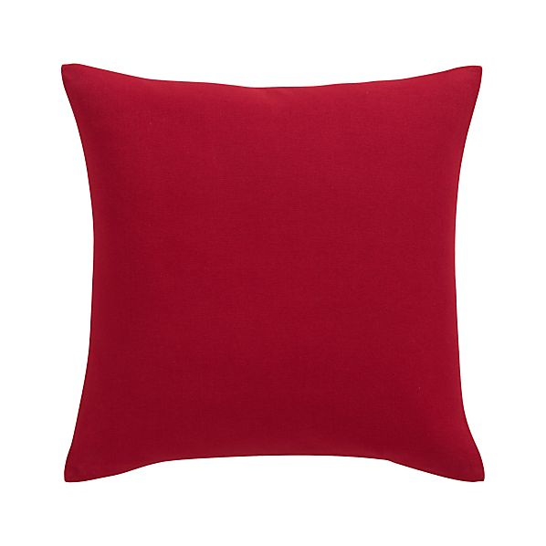 """Brinkley Red 18"""" Pillow"""