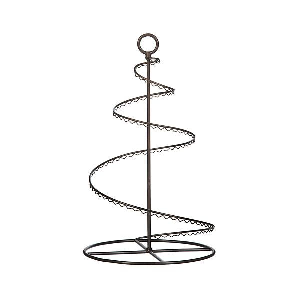 "Bronze Swirl 20"" Ornament Tree"