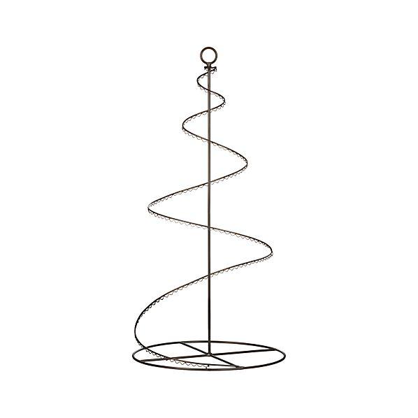 "Bronze Swirl 36"" Ornament Tree"