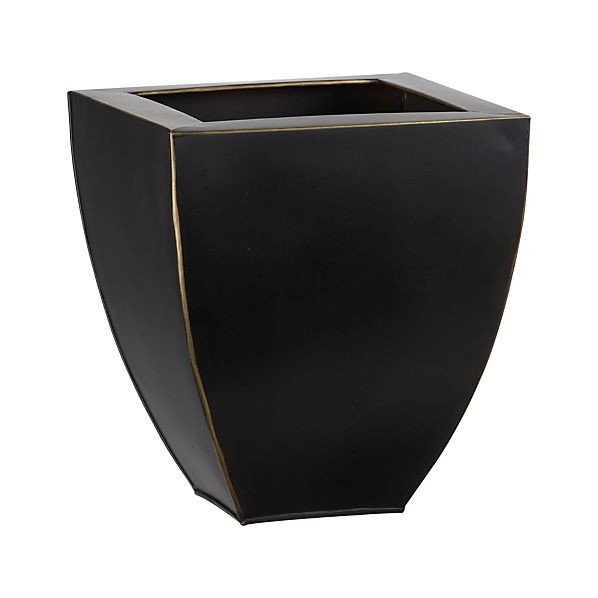Small Bronze Tapered Planter