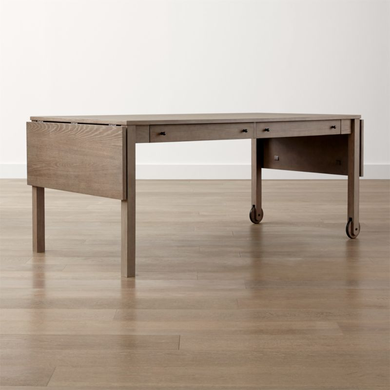 Brookline Grey Dining Table with Storage