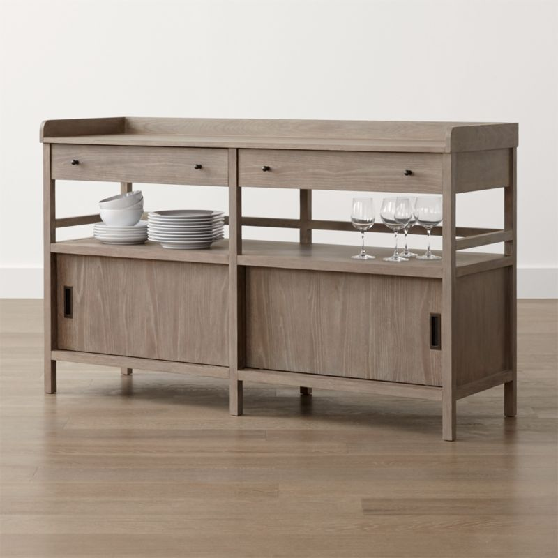 Brookline Grey Sideboard