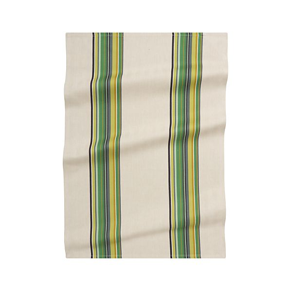 Brooklyn Green Dish Towel
