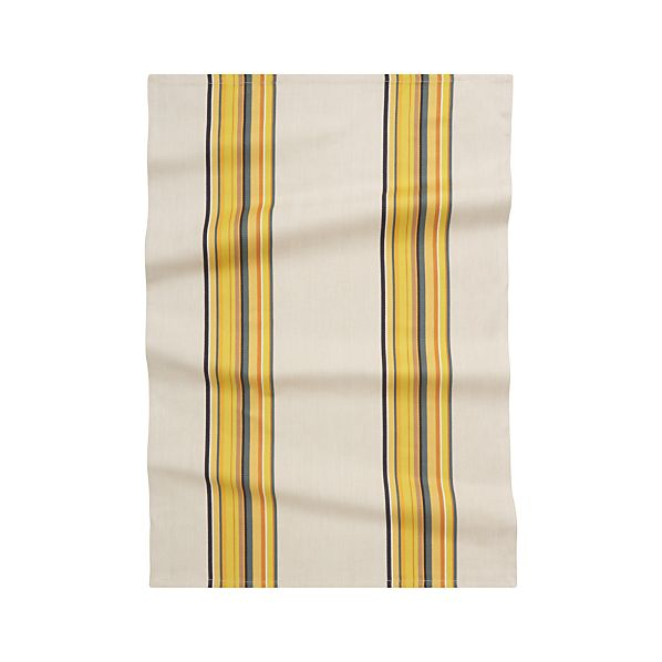 Brooklyn Yellow Dish Towel