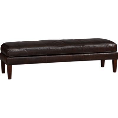 Brooks Leather Large Bench