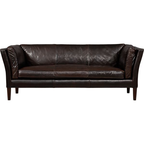 Brooks Leather Sofa