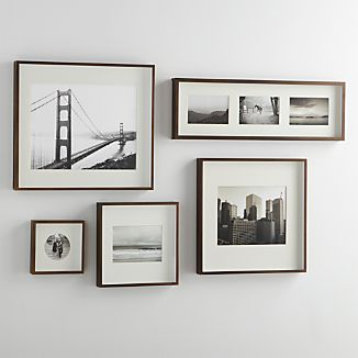 Brushed Antique Bronze Wall Frames