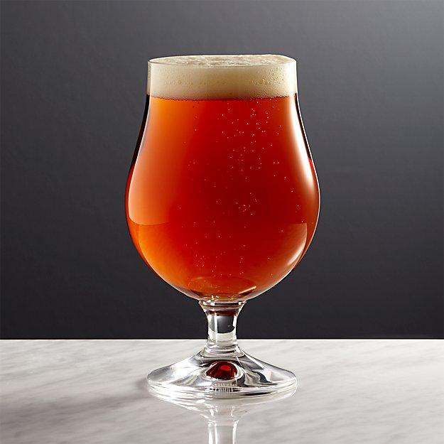Bruges Beer Glass Crate And Barrel