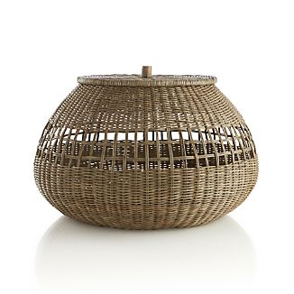 Bruno Lidded Basket