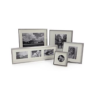 Brushed Silver Wall Frames