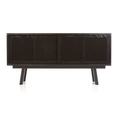 Bryant Black Large Sideboard