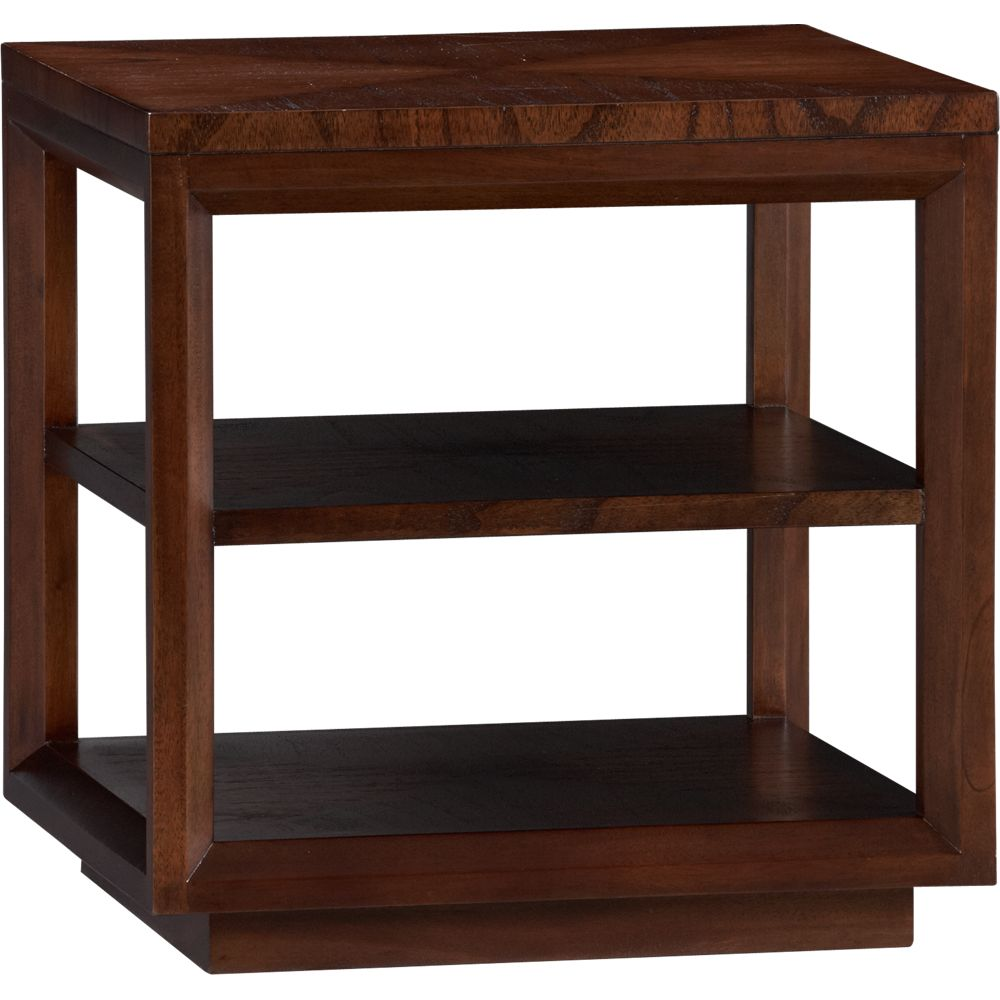 Furniture living room furniture side table marquetry - Crate and barrel espana ...