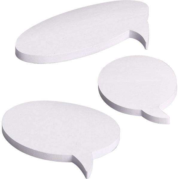 Set of 3 Bubble Sticky Notes