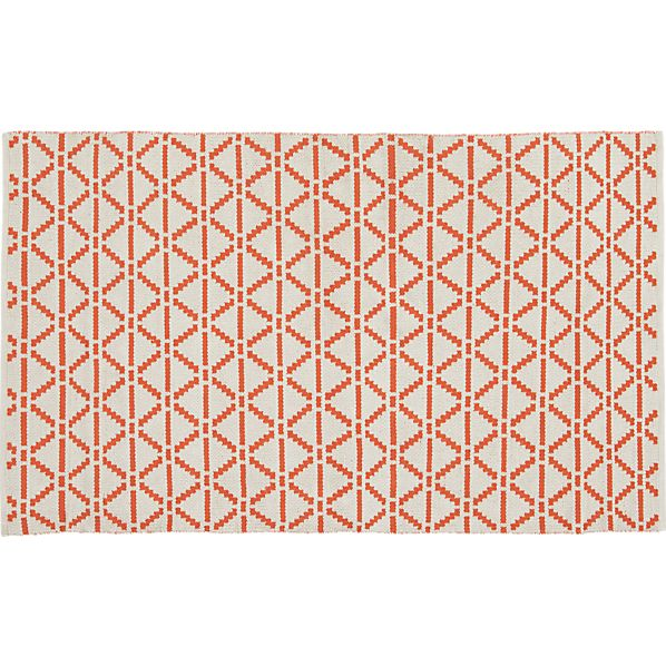 Bucato Coral 4'x6' Rug